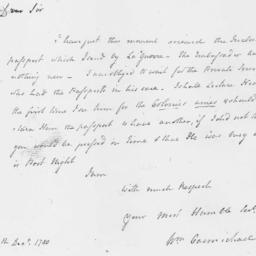Document, 1780 December 25