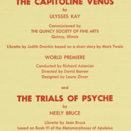 Capitoline Venus and the Tr...