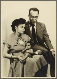 Barbara and Ulysses Kay with Baby Virginia