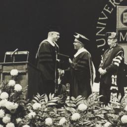 Ulysses Kay receiving award...