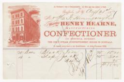 Henry Hearne. Bill - Recto