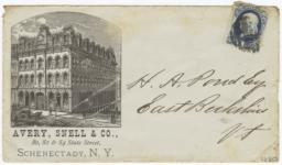 Avery, Snell & Co.. Envelope - Recto
