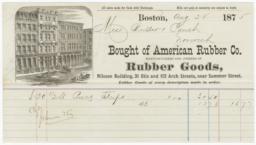 American Rubber Co.. Bill - Recto