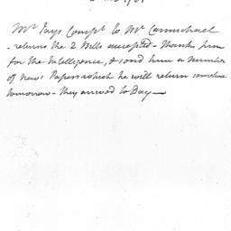 Document, 1781 February 22