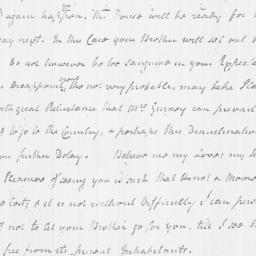 Document, 1779 March 21
