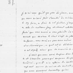 Document, 1782 August 22