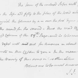 Document, 1780 March 02