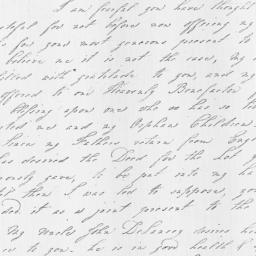 Document, 1813 April 23