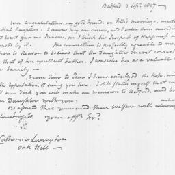 Document, 1807 September 03