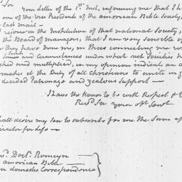 Document, 1816 June 12