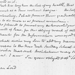 Document, 1816 April 22