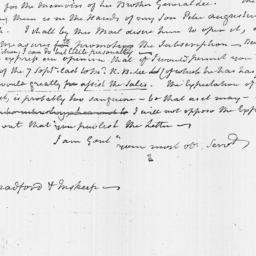 Document, 1812 October 13