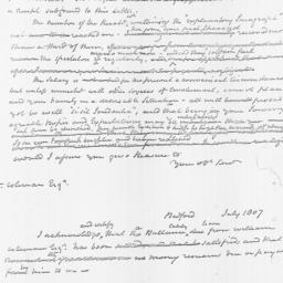 Document, 1807 July 13