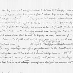 Document, 1784 January 07