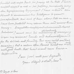 Document, 1782 March 26