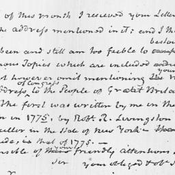 Document, 1826 October 27