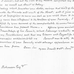 Document, 1823 February 18