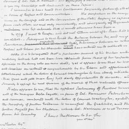 Document, 1822 January 07