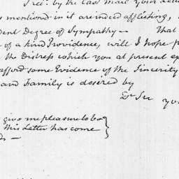 Document, 1821 October 23