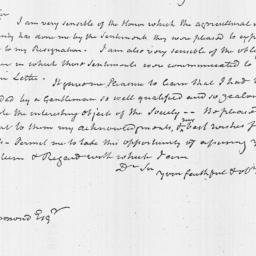 Document, 1819 October 25