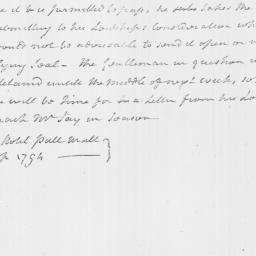 Document, 1794 September 26