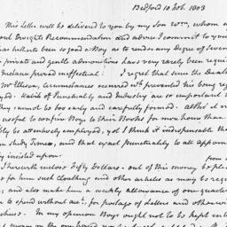 Document, 1803 February 10