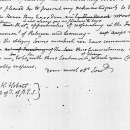 Document, 1803 January 21