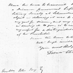 Document, 1823 August 06