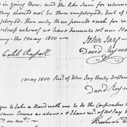 Document, 1800 May 01
