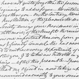 Document, 1805 November 07