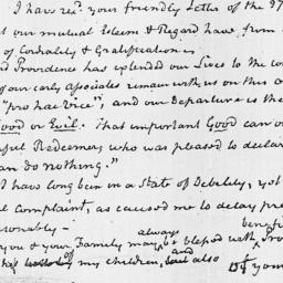 Document, 1827 January 23