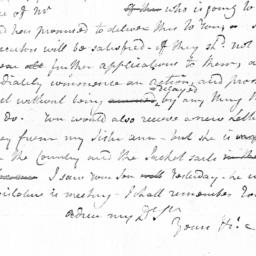 Document, 1784 October 06