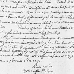 Document, 1810 March 01