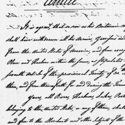 Document, 1783 April 29