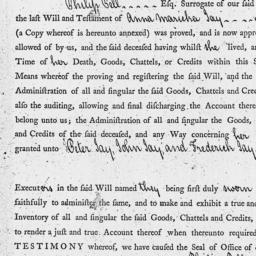 Document, 1791 November 07