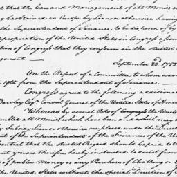 Document, 1781 November 27