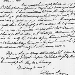 Document, 1817 March 05