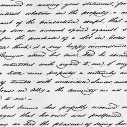 Document, 1818 October 13