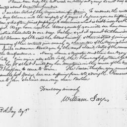 Document, 1817 April 21