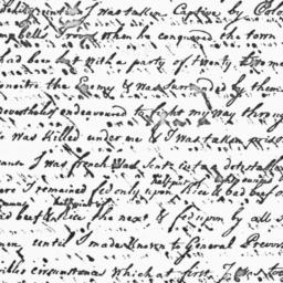 Document, 1779 July 29