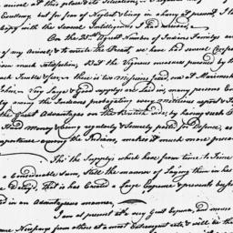 Document, 1779 June 01