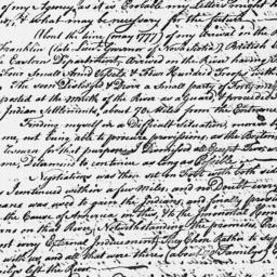 Document, 1779 April 21