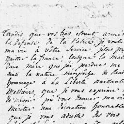 Document, 1787 March 03