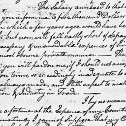 Document, 1779 July 09