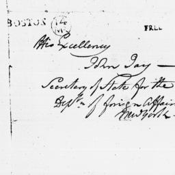 Document, 1786 August 26
