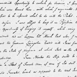 Document, 1779 July 23