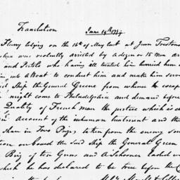 Document, 1779 June 19