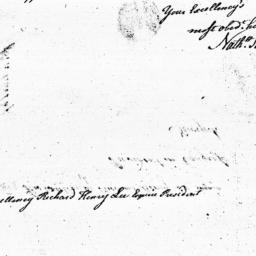 Document, 1785 August 22