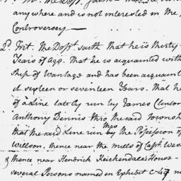 Document, 1769 September 05