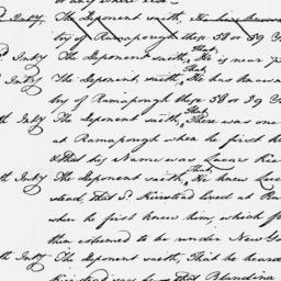 Document, 1769 September 02